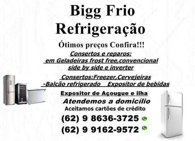 Confira!!!Reparos<>Consertos:Geladeiras,freezer e outros:ótimos preços
