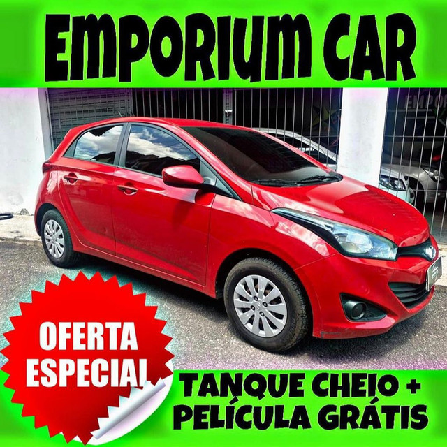 TANQUE CHEIO SO NA EMPORIUM CAR!!! HYUNDAI HB20 1.6 AUTOMÁTICO ANO 2015 CA