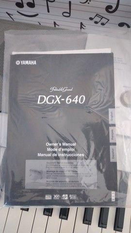 Piano digital Yamaha DGX 640 - Foto 4