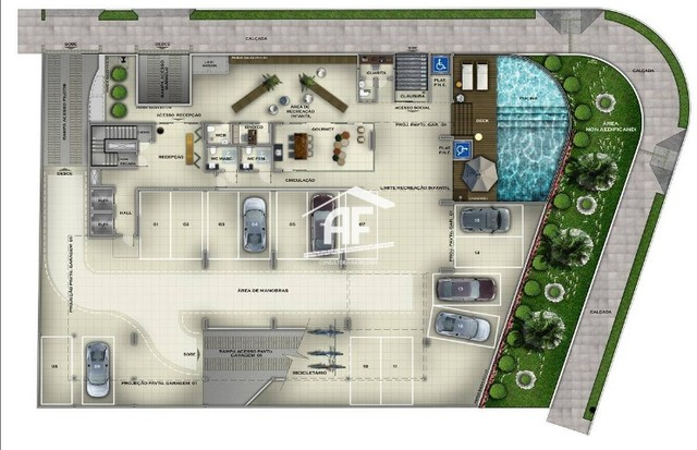 Apartamento Studio, Varanda e Vista para o Mar - Ótima forma de pagamento - Foto 20