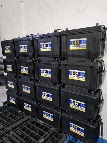 Baterias semi novas de 100ah muito novas.  - Foto 5