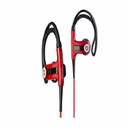 Fone de ouvido monster cable powerbeats sports in-ear - red dr beats