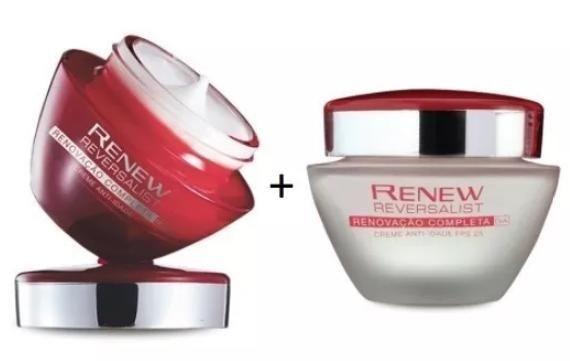 Avon Kit Renew Reversalist Creme Dia+noite 35+ Anos Avon