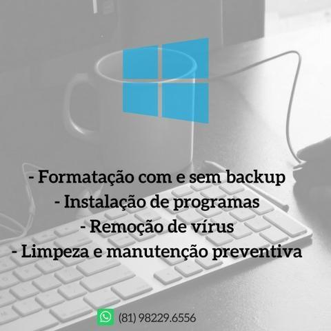 Serviços em informatica - Pcs & Notebook