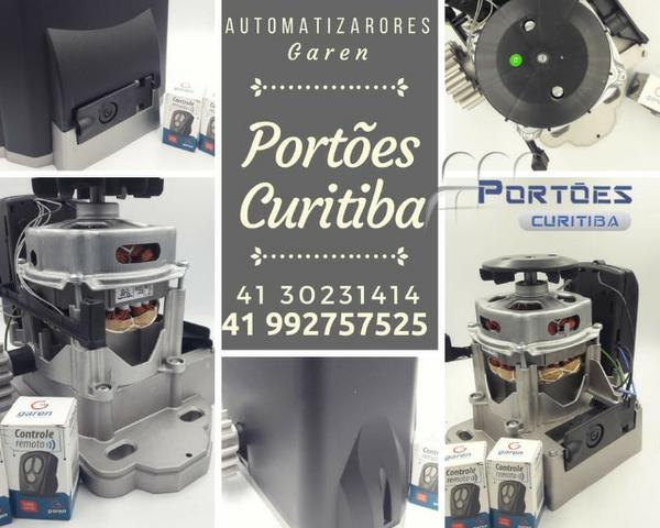 Portões curitiba , motores marca Garen com valor de promoção instalado