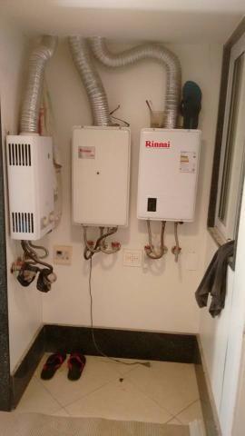 Gasista manutenção de aquecedor