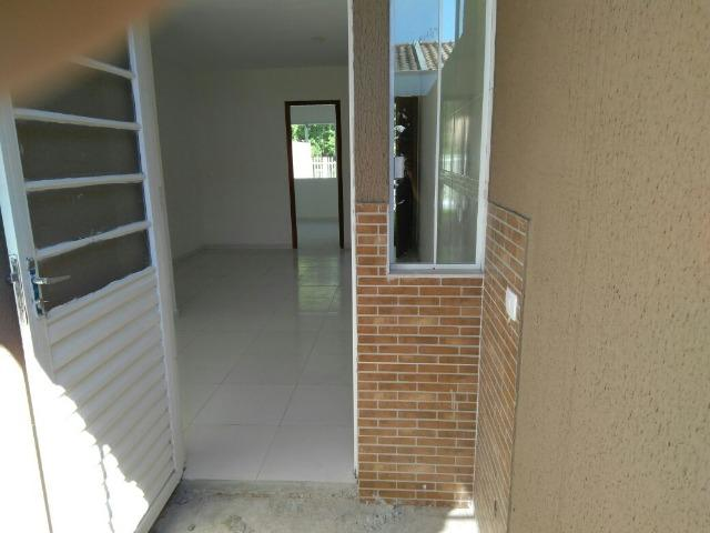 Casas 03 Quartos- Entrada Parcelada - Campo de Santana/Tatuquara - Imobiliaria Pazini - Foto 2