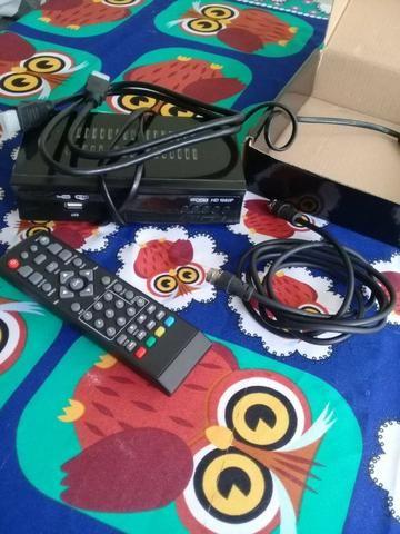 Conversor digital para TV na caixa!