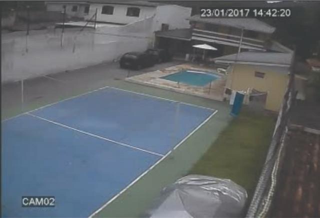 Sobrado mixto matinhos caioba com piscina 30 mil lt e quadra de volei acomoda 30 pessoas - Foto 2