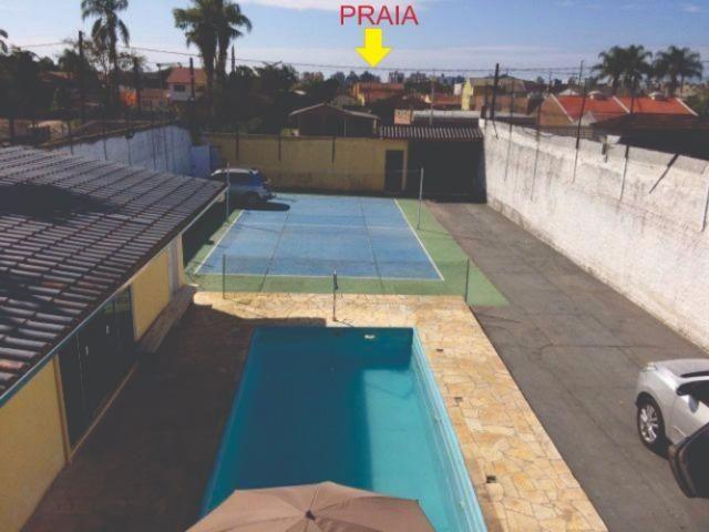 Sobrado mixto matinhos caioba com piscina 30 mil lt e quadra de volei acomoda 30 pessoas - Foto 5