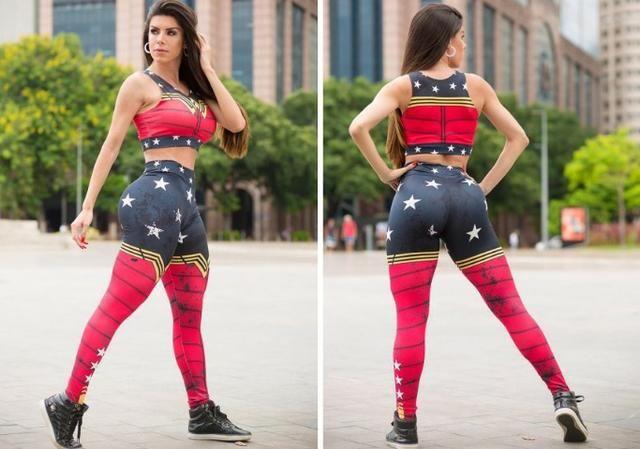 Calça legging Personagem - Foto 3