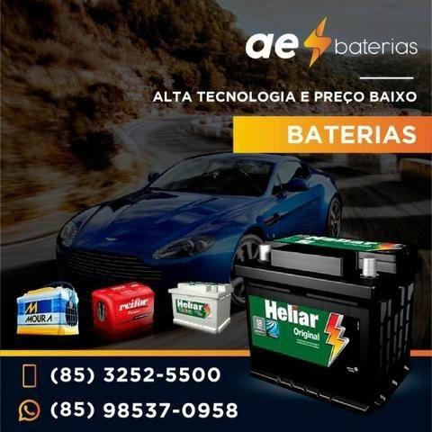 Preço garantido na bateria 60Ah Heliar