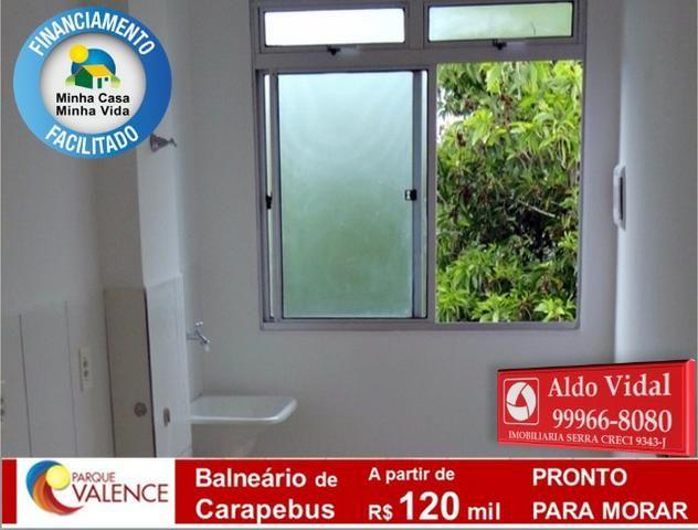 ARV143- Apto 2Q Entrada 0 no M.Casa Minha Vida, Próximo as Praias da Serra - ES - Foto 5