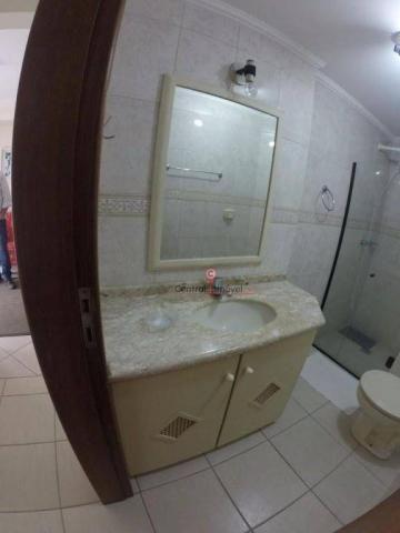 Apartamento com 3 dormitórios para alugar, 131 m² por R$ 500,00/dia - Centro - Balneário C - Foto 8