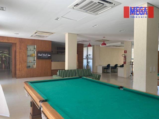 Apartamento com 2 dormitórios para alugar, 72 m² por R$ 2.700,00/mês - Porto das Dunas - A - Foto 7