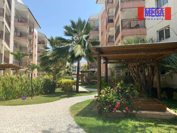 Apartamento com 2 dormitórios para alugar, 72 m² por R$ 2.700,00/mês - Porto das Dunas - A - Foto 2