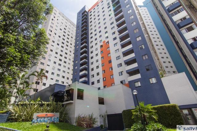 Apartamento para alugar com 1 dormitórios em Cristo rei, Curitiba cod:01127.001