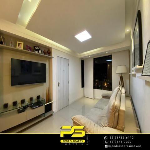 Apartamento com 3 dormitórios à venda, 118 m² por R$ 460.000 - Manaíra - João Pessoa/PB