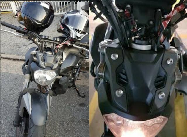 Seta esportiva embutida para qualquer moto!! Descriçao! importado! - Foto 7
