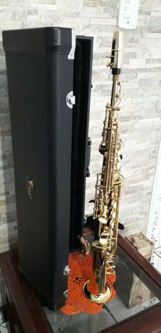 Sax soprano Eagle sp 502 novíssimo lindo - Foto 3