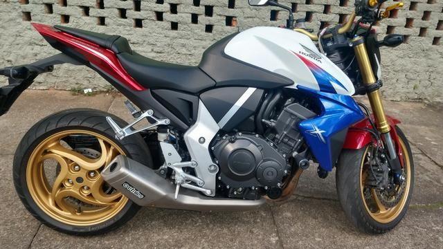 Honda CB 1000R 2013 apenas 21.712 km IPVA 2020 pago - Foto 13
