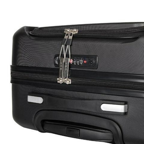 Mala de Bordo Exec. Bordô para Notebook ABS Roda Dupla 360º Cadeado TSA - Best - Foto 4