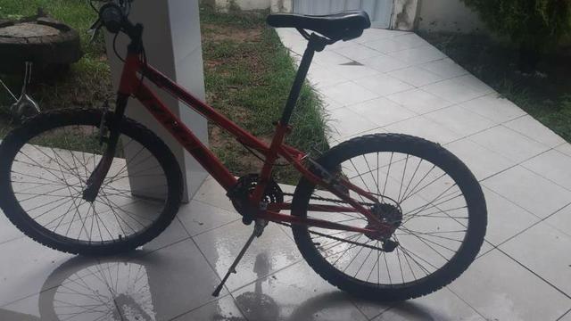 Vendo bicicleta caloi aro 24 - Foto 7