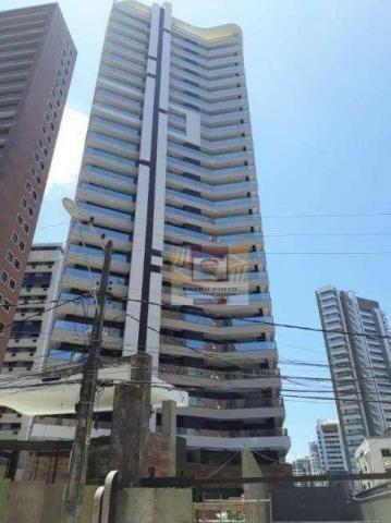 Apartamento com 4 dormitórios à venda, 235 m² por R$ 2.400.000,00 - Meireles - Fortaleza/C