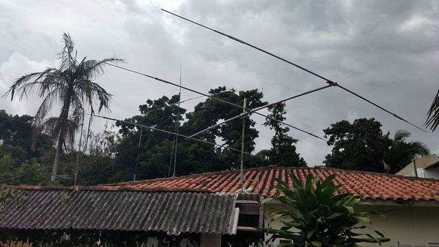 Antena direcional 3 elementos
