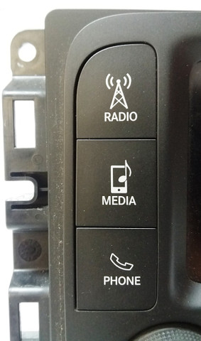 Rádio Multimídia Fiat Toro Volcano 2017 2018 2019 - Foto 3