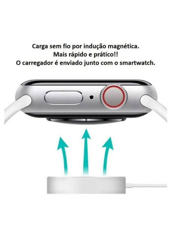 Relógio Tipo Apple Watch IWO 8 + Frete Grátis 279,99 - Foto 5