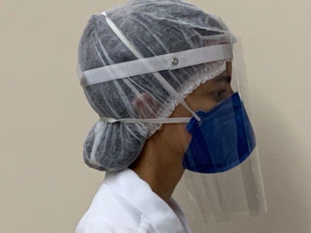 Protetor Facial para sua proteção e de sua equipe - Foto 4