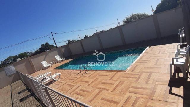 Apartamento com 2 dormitórios à venda, 63 m² por R$ 305.000,00 - Parque Ouro Verde - Foz d - Foto 5