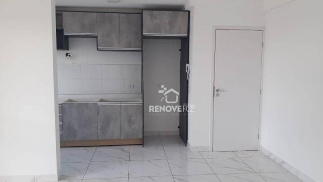 Apartamento com 2 dormitórios à venda, 63 m² por R$ 305.000,00 - Parque Ouro Verde - Foz d - Foto 7