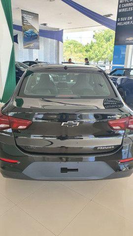 Onix Plus Sedan Premier Midnight Turbo / 0km-2021 - Foto 3