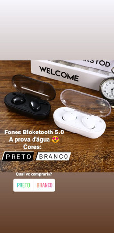 Fones de Ouvido Bluetooth Extrema Qualidade