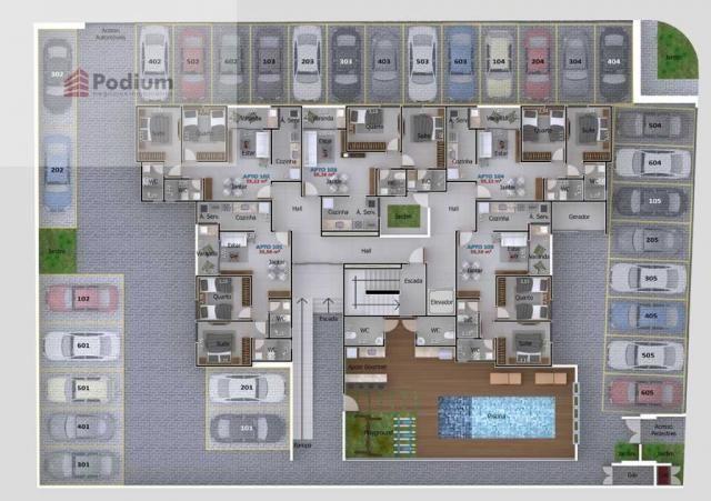 Apartamento à venda com 2 dormitórios em Portal do sol, João pessoa cod:37623 - Foto 9
