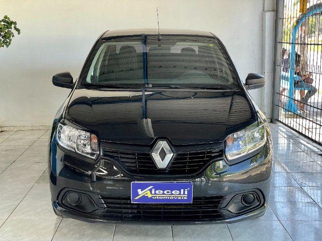 Renault Logan Authentique 1.0 12v 2020, único dono