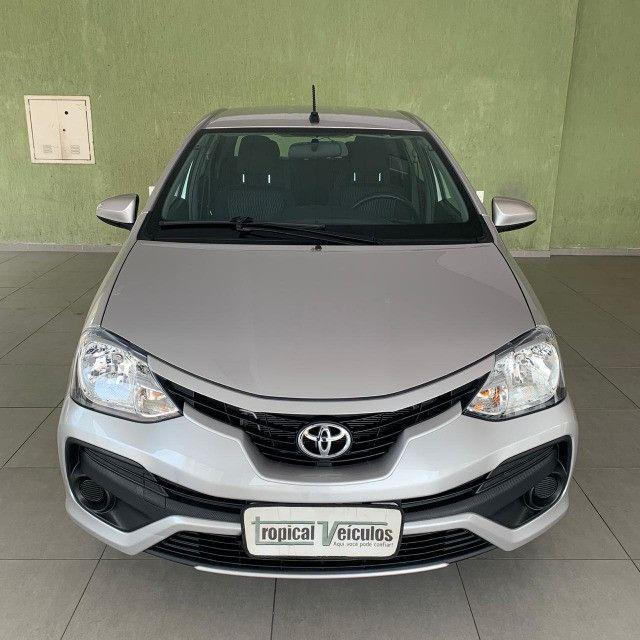 Toyota Etios Automático X 1.5 2018 Completo!!! - Foto 3