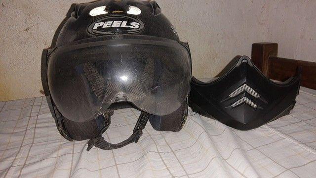 Baú, capacete - Foto 4