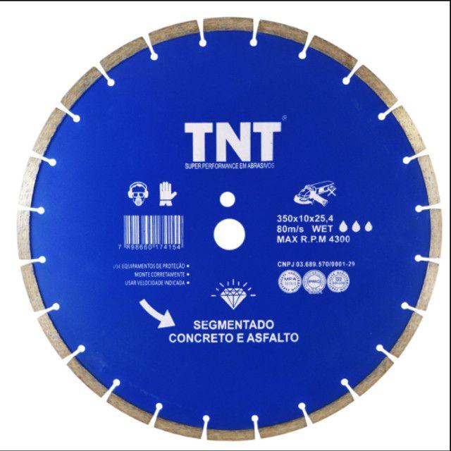 Disco diamantado 350 mm TNT blue asfalto/concreto