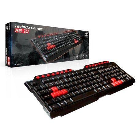 Teclado Gamer C3Tech KG-10 - NOVO - Loja Física