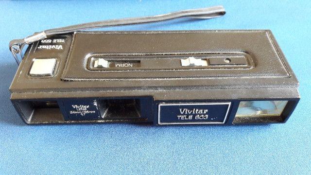 Câmera Polaroid Square Shooter 2 + Vivitar Tele 603 - Foto 6