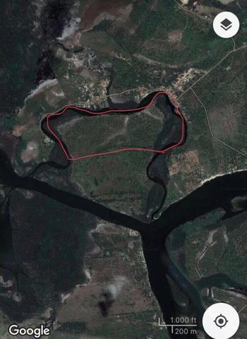 Ilha paradiasiaca na lagoa 100% escriturada e registrada - Foto 2