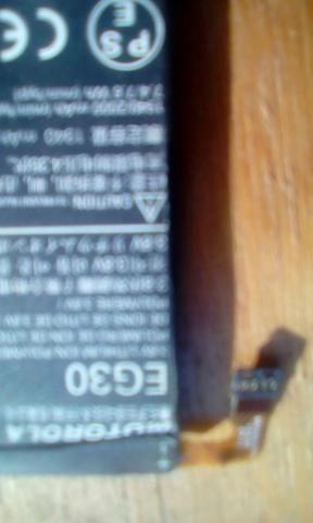 Bateria de celular motorola EG30