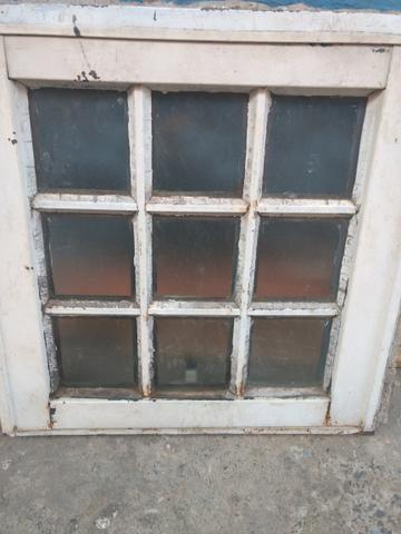 Vitro de banheiro com 9 vidros moderno