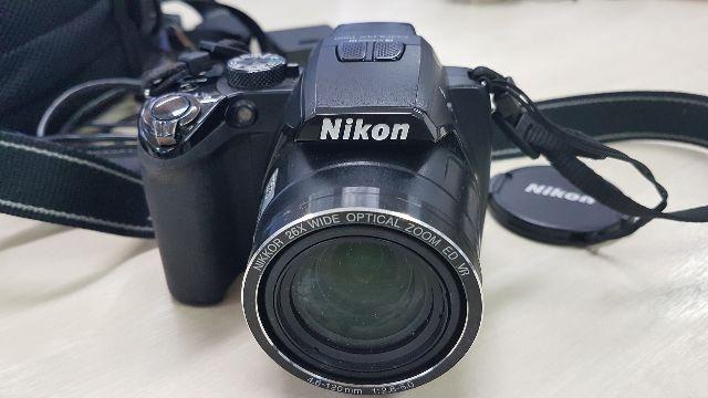 Câmera Nikon Coolpix-P100 com pouco uso
