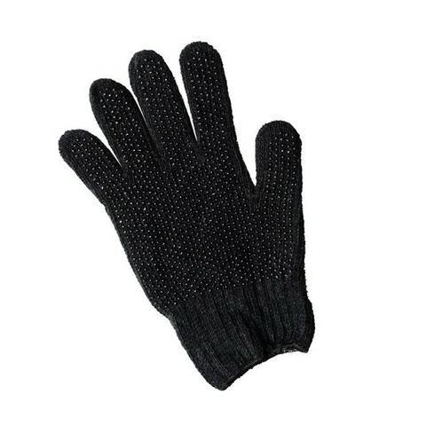 Luva pigmentada preta ou branca (bolinhas na palma)