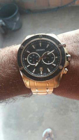 00aeccb1698 Relógio Orient original - Bijouterias
