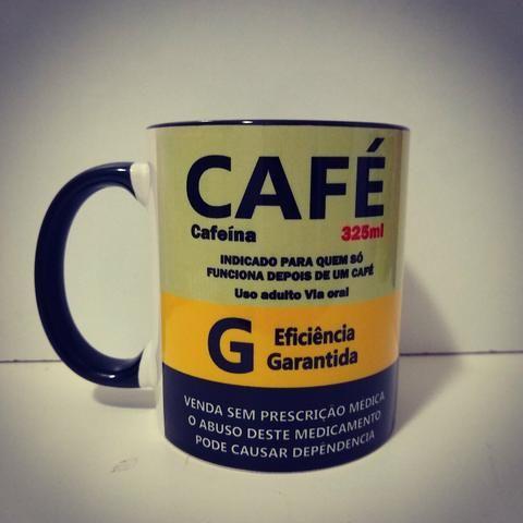 Caneca personalizada tema Café